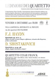 programma Cesar franck Lampedusa